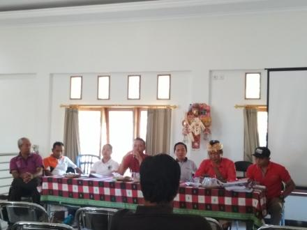 MONEV Kecamatan Tejakula Apbdes Dan Realisasi Kegiatan 2019