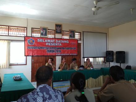 Rapat Sosialisasi Administrasi Kependudukan Dan Catatan Sipil 2019