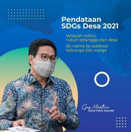 Pendataan SDGs Desa Tahun 2021
